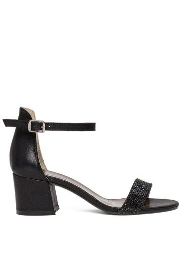Sole Sisters Kısa Topuklu Sandalet Siyah - Narez2 Siyah